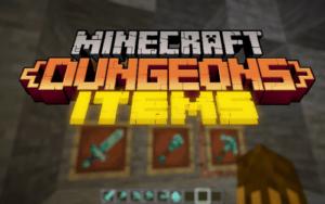 Ресурспак Minecraft Dungeons Items [16x] 1.15.2