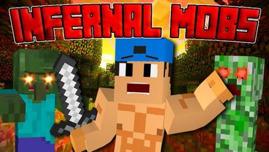 Мод Infernal Mobs 1.17.1, 1.16.1, 1.15.2, 1.12.2, 1.7.10