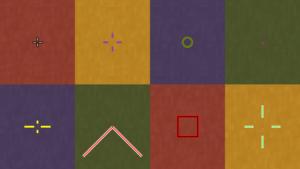 Мод Custom Crosshair для майнкрафт 1.16.5, 1.15.2, 1.12.2, 1.7.10