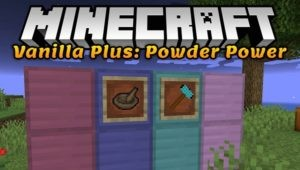 Мод Powder Power 1.16.4 1.15.2, 1.14.4, 1.12.2 (сплавы из руд)