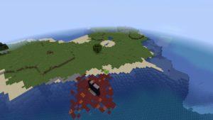 Остров и портал в ад 1.16.1