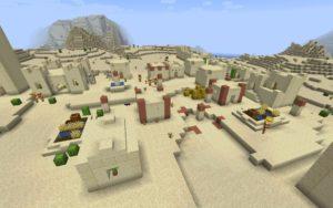 Деревня в пустыне 1.16.x, 1.15.2, 1.14.4