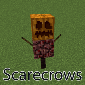 Мод Scarecrows для майнкрафт 1.16.1, 1.15.2, 1.14.4, 1.12.2