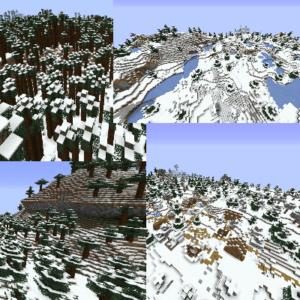 Мод Polarizing Biomes для майнкрафт 1.16.1, 1.14.4