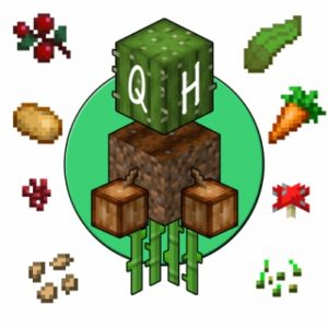 Мод Quick Harvest для майнкрафт 1.16.1, 1.15.2, 1.14.4
