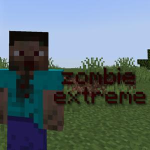 Мод Zombie Extreme для майнкрафт 1.15.2, 1.14.4