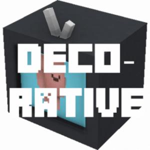 Мод Decorative для майнкрафт 1.16.1, 1.15.2