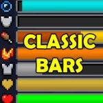 Мод Classic Bars для майнкрафт 1.16.1, 1.15.2, 1.14.4, 1.12.2