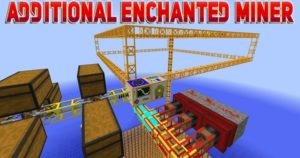 Мод Additional Enchanted Miner 1.16.5, 1.15.2, 1.14.4, 1.12.2
