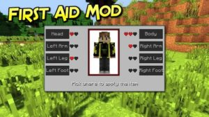 Мод First Aid для майнкрафт 1.16.1, 1.15.2, 1.14.4, 1.12.2