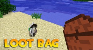 Мод Loot Bag для майнкрафт 1.16.3, 1.15.2, 1.14.4, 1.12.2