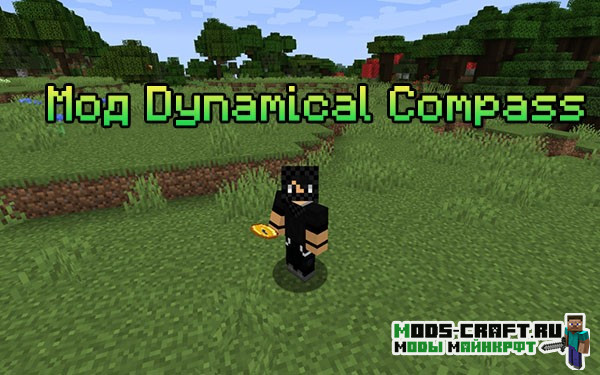 Мод Dynamical Compass для майнкрафт 1.16.2, 1.15.2, 1.14.4