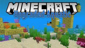 Мод Upgrade Aquatic для майнкрафт 1.15.2, 1.14.4