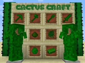 Мод Cactus Craft для майнкрафт 1.12.2