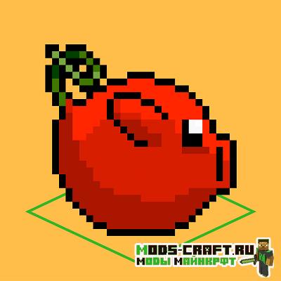 Мод CherryPig для майнкрафт 1.16.1, 1.15.2, 1.7.10
