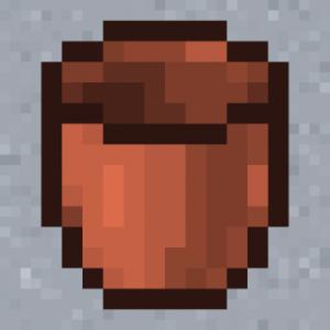 Мод Ceramic Bucket для майнкрафт 1.16.3, 1.14.4