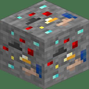 Мод на руду удачи - Lucky Ore для майнкрафт 1.16.3, 1.15.2