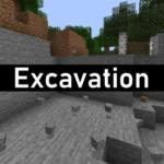 Мод Excavation для майнкрафт 1.16.1