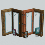 Мод Glass Doors для майнкрафт 1.16.2
