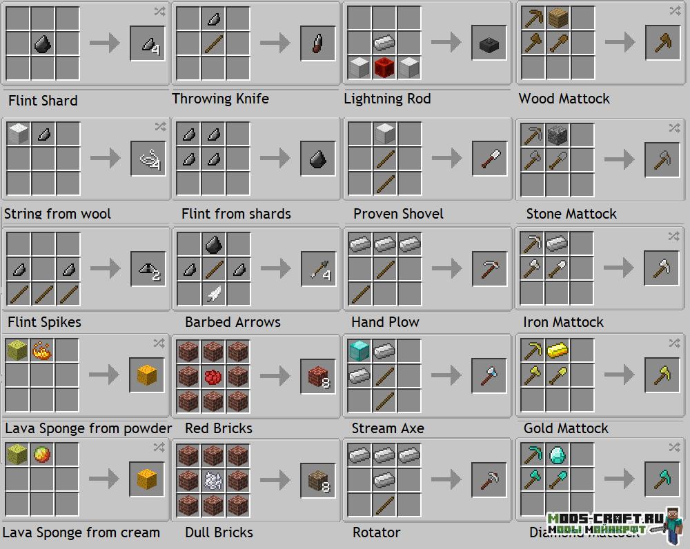 Мод Survival Utilities для майнкрафт 1.12.2