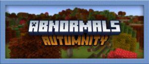 Мод Autumnity для майнкрафт 1.16.5, 1.15.2, 1.14.4