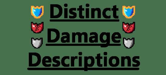 Мод Distinct Damage Descriptions для майнкрафт 1.12.2