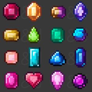 Мод Gems & Jewels для майнкрафт 1.16.2, 1.15.2, 1.7.10