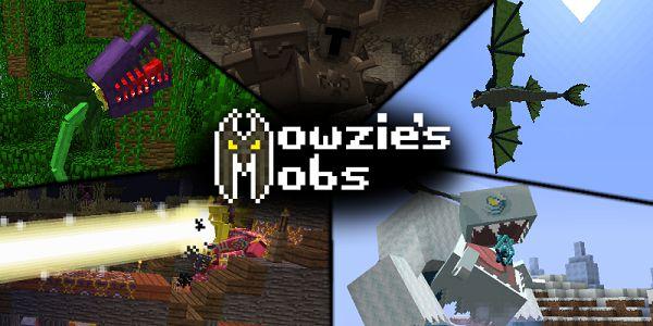 Мод на фантастических мобов - Mowzie's Mobs 1.16.5, 1.15.2, 1.12.2, 1.7.10