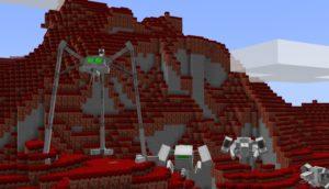 Мод The War of the Worlds для майнкрафт 1.15.2