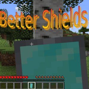 Мод Better-Shields для майнкрафт 1.16.5, 1.14.4