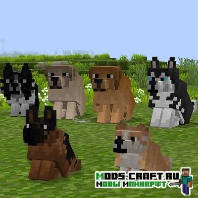Ресурспак Better Dogs для майнкрафт 1.16.3, 1.15.2, 1.14.4