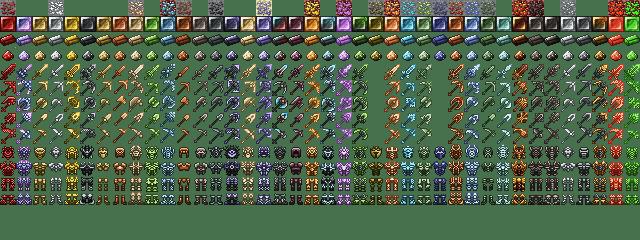 Мод Metallurgy 4: Reforged для майнкрафт 1.12.2