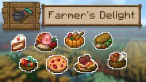 Мод Farmer's Delight для майнкрафт 1.16.5, 1.15.2