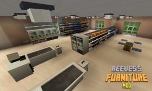 Мод Reeves's Furniture 1.15.2, 1.14.4, 1.12.2 (красивая мебель и бытовая техника)