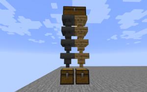 Мод Wooden Hoppers для майнкрафт 1.16.2