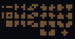 Ресурспак Connected Logs для майнкрафт 1.16.3, 1.15.2