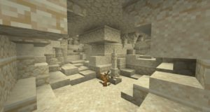 Мод Subterranean Wilderness 1.16.3 (красивые пещеры)