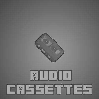 Мод Audio Cassettes для Майнкрафт 1.16.3, 1.15.2, 1.122.