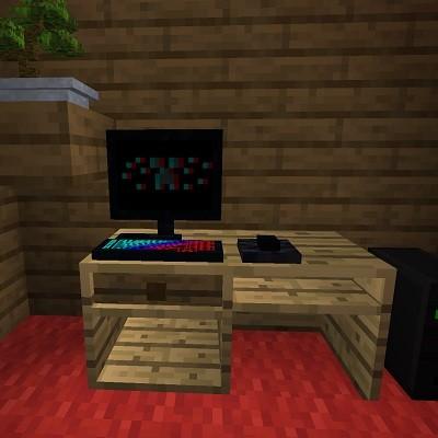 Мод Decoration and Furniture 1.16.5, 1.15.2 (декорации и мебель)