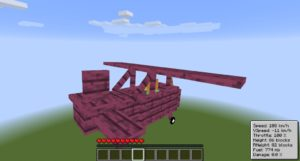 Мод Ultimate Plane для Майнкрафт 1.16.4, 1.15.2