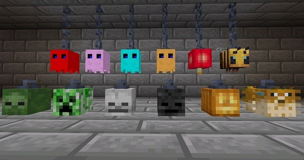 Мод Skinned Lanterns для Майнкрафт 1.16.3