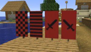 Мод Banner Additions для Майнкрафт 1.16.3, 1.15.2
