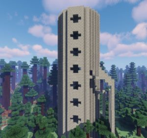 Мод Spellbound Spire Towers 1.15.2, 1.14.4, 1.12.2
