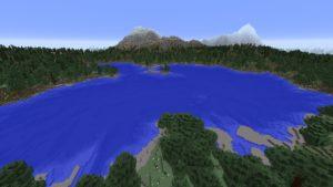 Мод Realistic Mountains для Майнкрафт 1.12.2