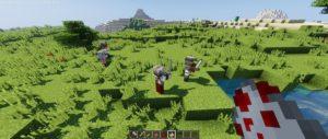 Мод Medieval Craft для Майнкрафт 1.12.2 (башни с воинами)