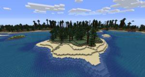 Мод Classic Beaches 1.16.4 (генерация пляжей)