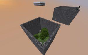 Карта Выживание в коробках для майнкрафт 1.16.4, 1.16.1