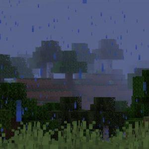Мод Particle Rain для Майнкрафт 1.16.4