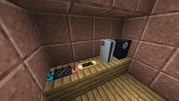 Мод Decorative Video Game Consoles 1.15.2, 1.14.4, 1.12.2