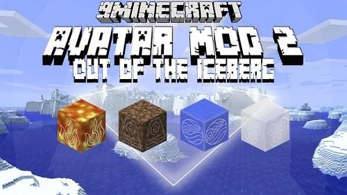 Мод Avatar 2: Out of the Iceberg для Майнкрафт 1.12.2